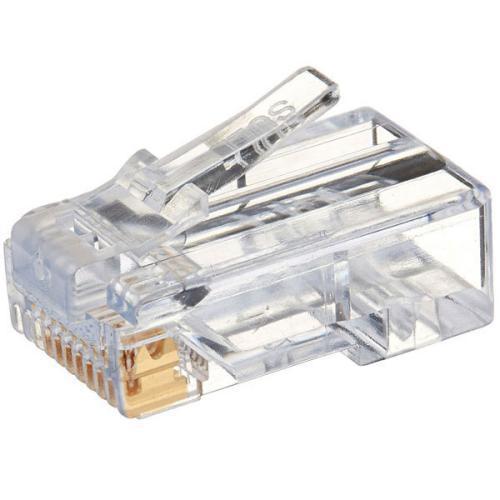 سوکت شبکه CAT6 مدل 024 بسته 100 عددی
