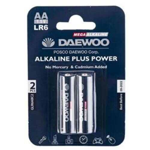 131007003 500x500 - باتری قلمی دوو مدل Alkaline Plus Power بسته دو عددی