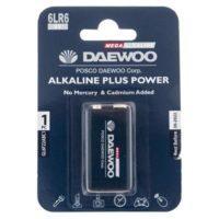 باتری کتابی دوو مدل Alkaline plus Power