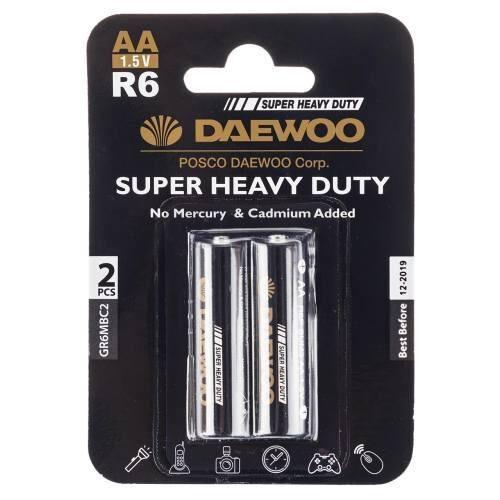 باتری قلمی دوو مدل Super Heavy Duty بسته دو عددی