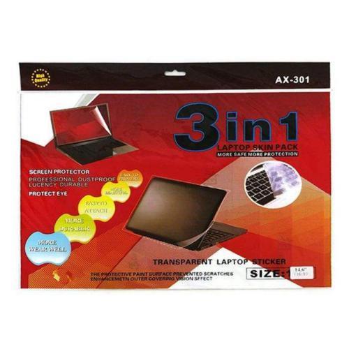 محافظ صفحه نمایش لپ تاپ مدل AX-301 سایز ۱۵٫۶ اینچی بسته ۳ عددی