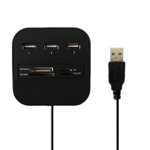 هاب USB2.0 و کارت خوان COMBO مدل ۰۱۲