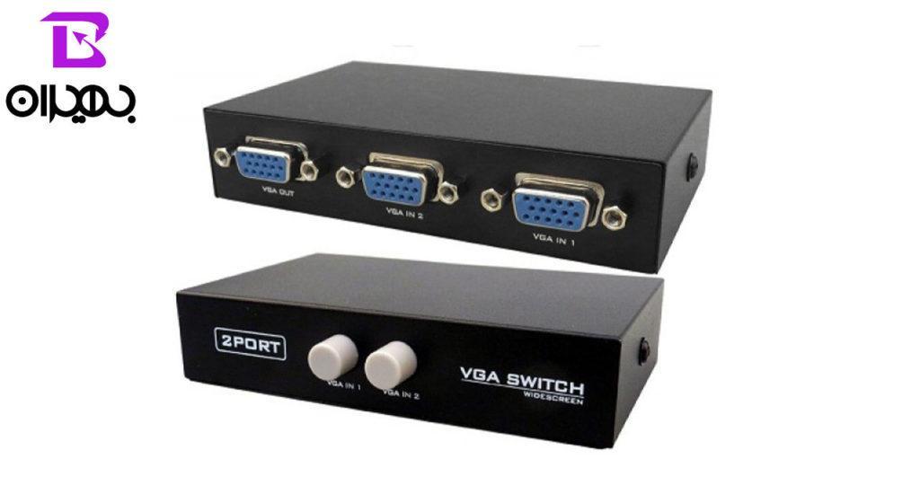 سوئیچ VGA 2 PORT مدل ۰۰۱
