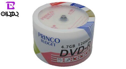 دی وی دی خام پرینکو ظرفیت ۵GB پک 50 عددی 2