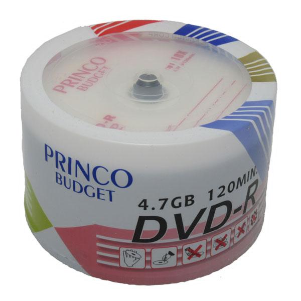 دی وی دی خام پرینکو ظرفیت ۵GB پک 50 عددی