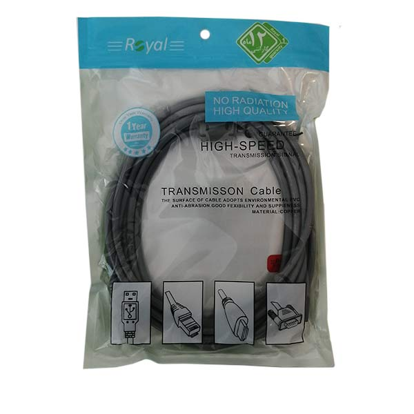 کابل افزایش USB رویال مدل 057 طول 3 متر