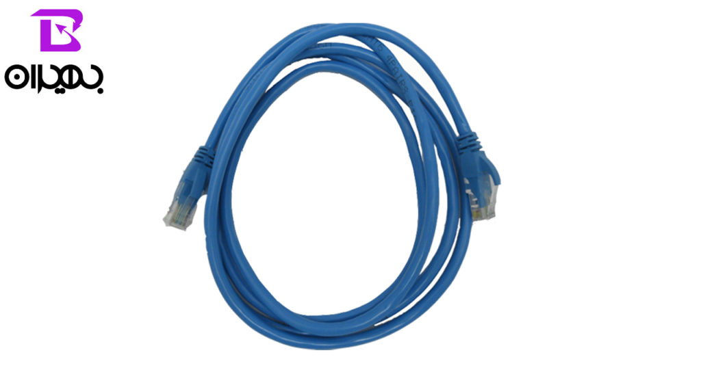 کابل شبکهCAT 6 VNL مدل ۱۵۶ طول ۲ متر