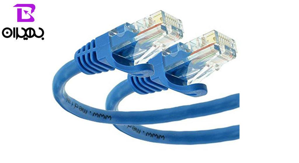 کابل شبکه دیتالایف مدل CAT5 طول ۵۰ سانتی متر