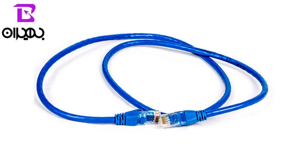 کابل شبکه دی-نت مدل CAT6 طول ۱ متر