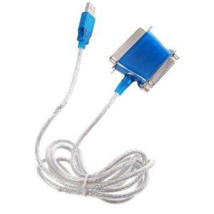 تبدیل پارالل به USB دو سر مدل ۱۸۶