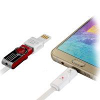 153015201 2 200x200 - کابل تبدیل USB به microUSB ایکس کابل مدل GE-16 طول ۱ متر