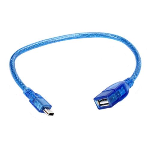 کابل ذوزنقه به مادگی USB مدل ۳۰CM