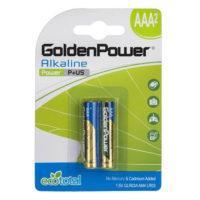 golden 200x200 - باتری نیم قلمی گلدن پاور مدل آلکالاین ۰۰۹