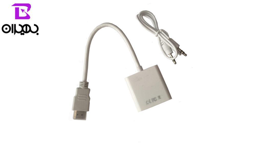 تبدیل HDMI به VGA پی-نت مناسب برای PS3-XBOX