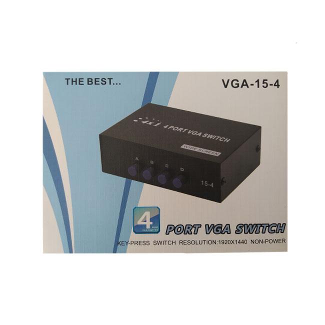 سوئیچ VGA چهار پورت مدل ۰۰۲