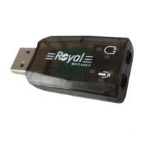 001 200x200 - کارت صدا USB رویال معمولی مدل ۰۰۴