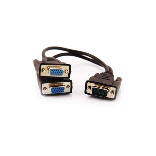 89 500x500 - کابل ۱ به ۲ مانیتور دی-نت مشکی  مدل ۱۲۴