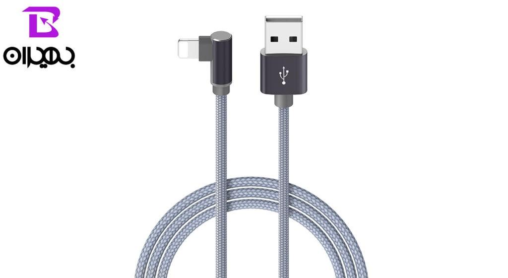 کابل تبدیل USB به لایتنینگ بروفون مدل BX12 طول 1 متر