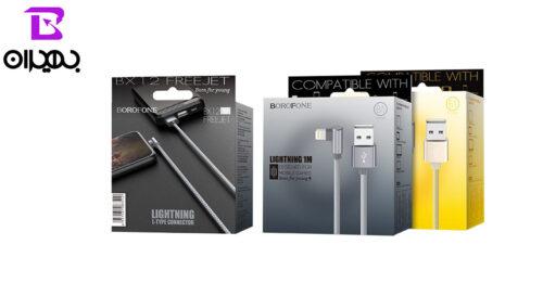Borofone BX12 USB to Lightning 5
