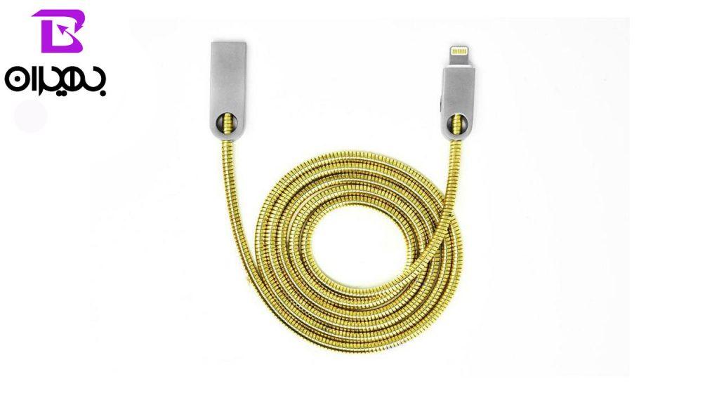 کابل تبدیل USB به لایتنینگ تسکو مدل TC 66N طول ۱ متر