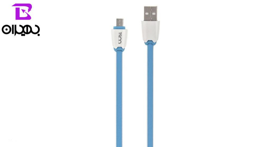 کابل تبدیل USB به MicroUSB تسکو مدل TC55N طول ۱ متر
