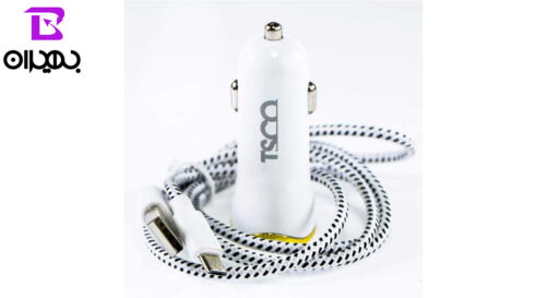 TSCO TCG 31 Car Charger With MicroUSB Cable 1