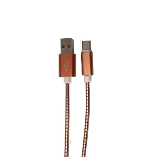 کابل تبدیل USB به Type-C فلزی درجه یک مدل J10
