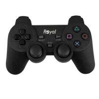 Royal 021 Gamepad 200x200 - دسته بازی تک شوکدار رویال مدل ۰۲۱