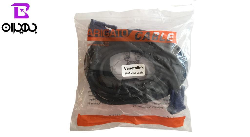 کابل VGA ضخیم طول 10 متر