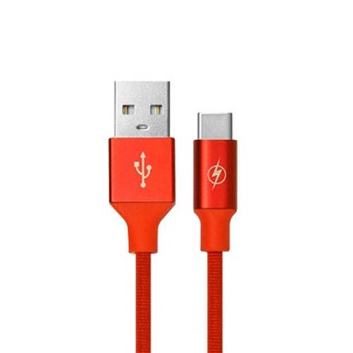 کابل تبدیل USB به Type-C تسکو مدل TC-C12 طول 1 متر