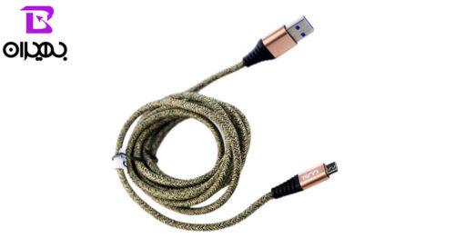 19 1 500x273 - کابل USB به MicroUSB تسکو مدل TC-A19 طول 2 متر