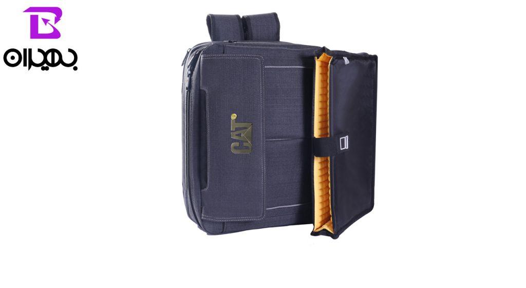 کیف لپ تاپ سه کاره مدل CAT-550 مارک فلزی