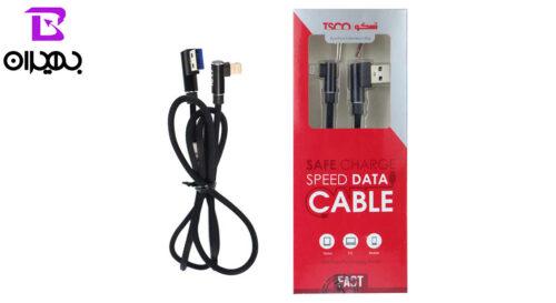 67 1 500x273 - کابل USB به لایتنینگ (آیفون) تسکو مدل TC 67 طول 1 متر