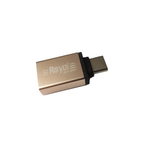 تبدیل OTG Type-C USB3.0 رویال مدل 343