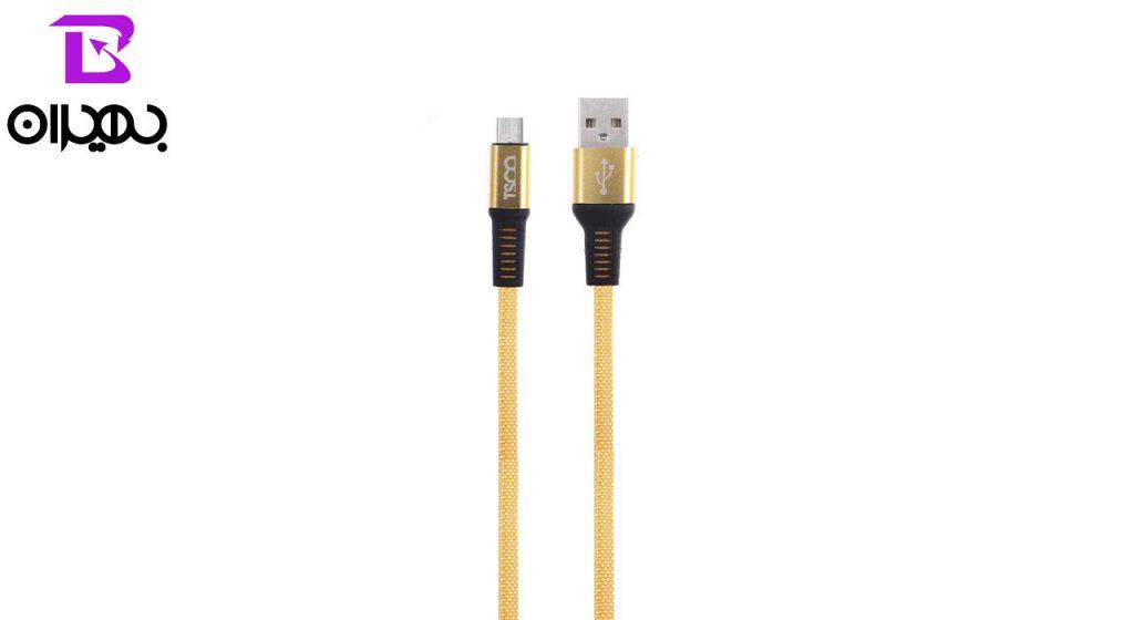 کابل تبدیل USB به MicroUSB تسکو مدل TC A79 طول 1 متر