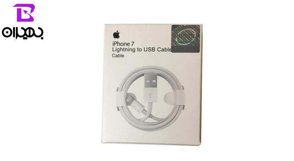 کابل تبدیل USB به لایتنینگ (آیفون) مدل MD818MA