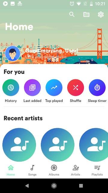 music android retro - 7 بهترین موزیک پلیر اندروید با قابلیت های ویژه