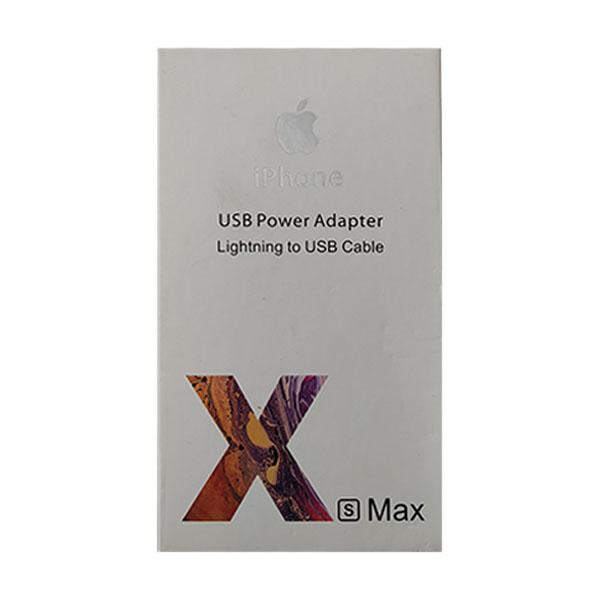 شارژر و کابل USB به لایتنینگ مدل MD814