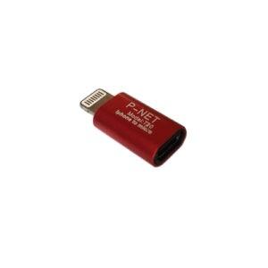 P net T 20 MicroUSB to Lightning converter