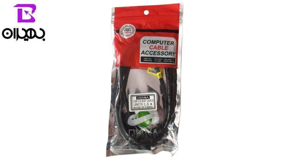 کابل USB به MiniUSB مدل 025 طول 1.5 متر