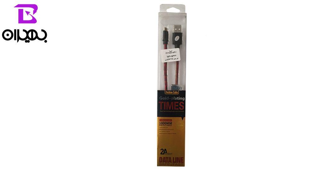 کابل تبدیل USB به MicroUSB داتیس مدل 372