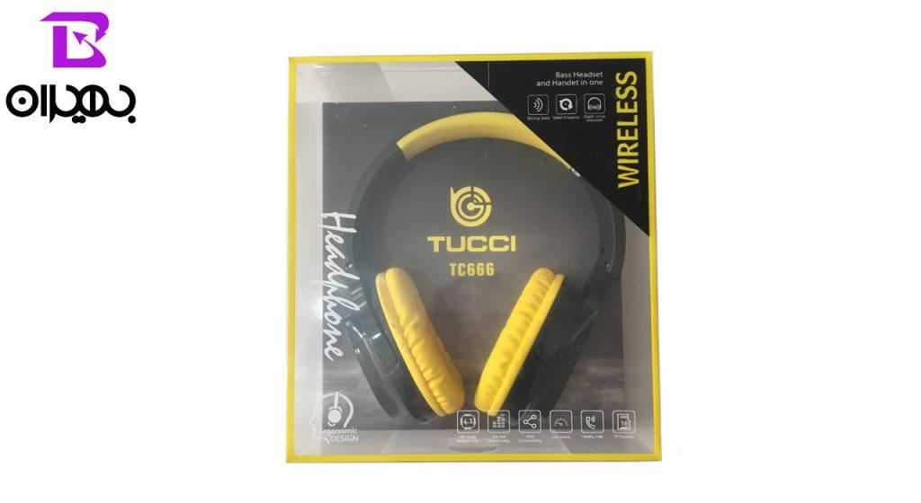 هدست بلوتوث Tucci مدل TC666