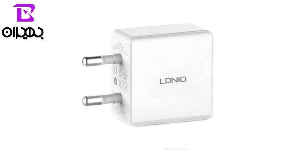 شارژر و کابل تبدیل USB به MicroUSB الدینیو مدل DL-AC200