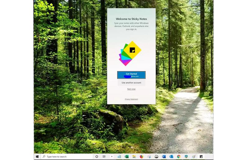 behiranpc Sticky Notes in Windows 10 4 - بهترین روش نوشتن یادداشت در ویندوز 10