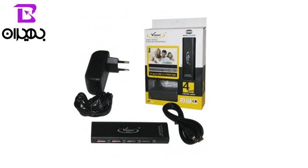 هاب USB ونوس مدل PV-H193 آداپتوری