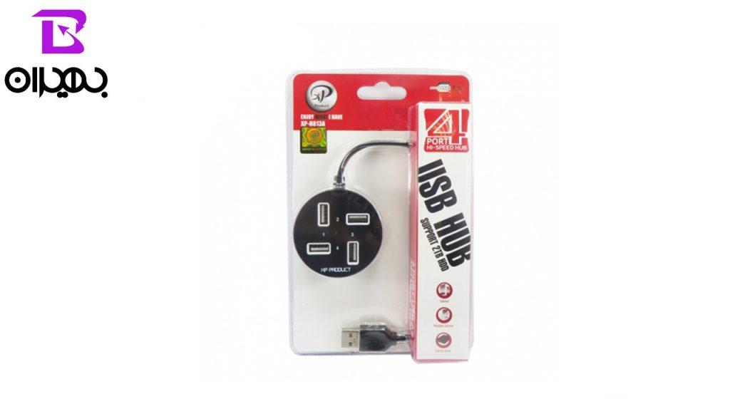 هاب USB ایکس پی پروداکت 4پورت مدل XP-H813A
