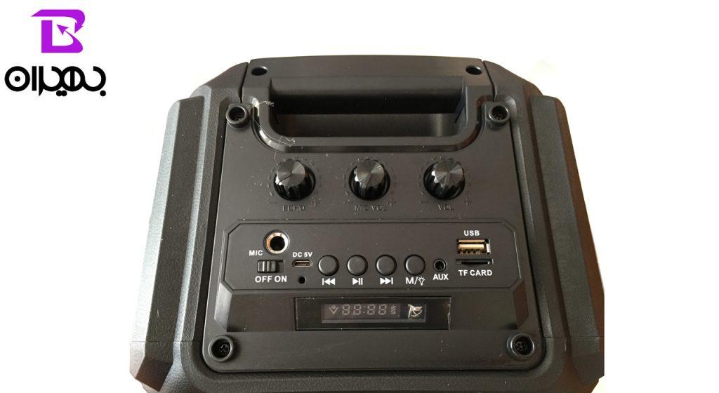 اسپیکر بلوتوثی مدل ZQS-6206W
