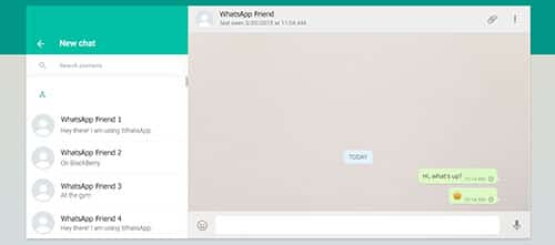 واتساپ وب