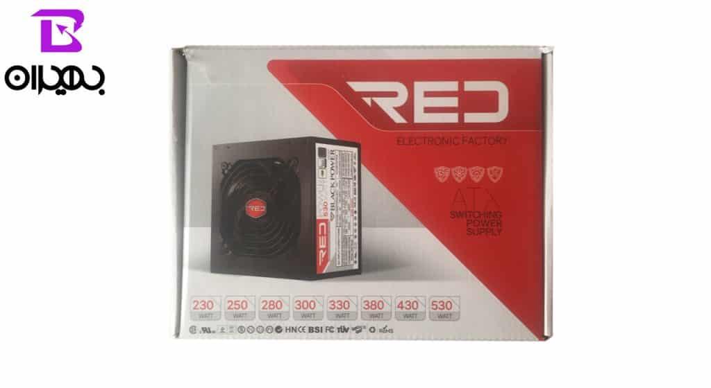 منبع تغذیه کامپیوتر مدل RED BIGFAN New