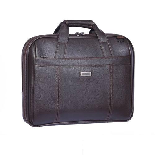 کیف لپ تاپ دستی چرمی مدل سنتوزا 1110
